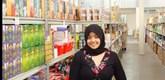 Azba, daughter of Moshims managing director Mohammed Hashim Khan.