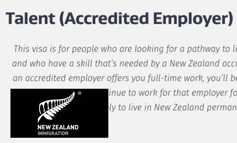 Talent Visa