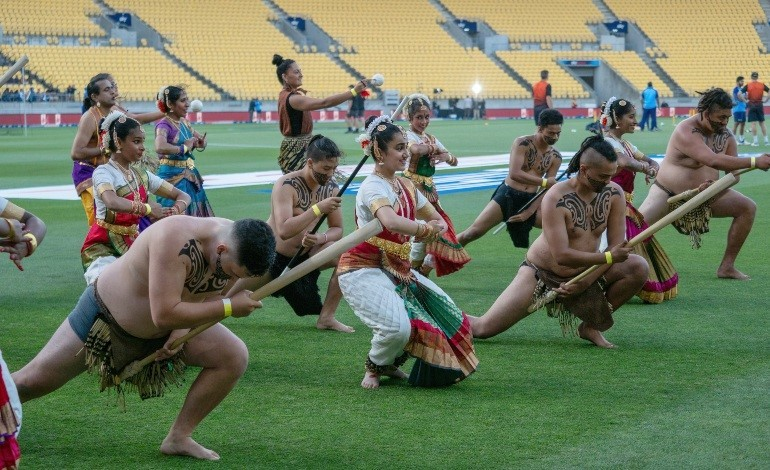 Maori-Indian fusion