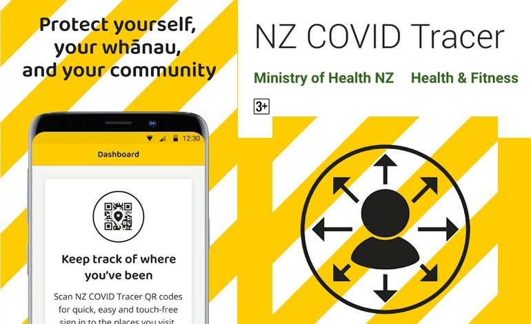 NZ Covid Tracer App