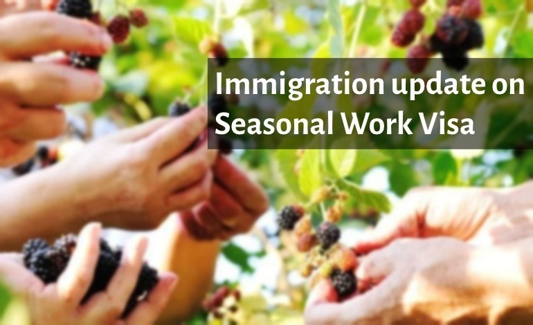 Season Work Visa