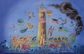 hinduism nalinesh arun indians samudra manthan