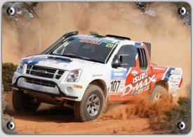 isuzu d-max rally abu dhabi desert challenge