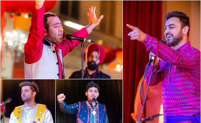 Singing events Khitaab-e-Awaaz Voice of NZ Speed Records JK Star Production Pal production Punjab contest