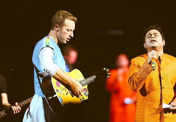 Coldplay Global Citizen Festival A R Rahman Mummbai