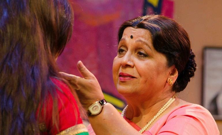 Rohini Hattangadi Parag Shah V3 Events NZ Gujarati Play Indian Weekender