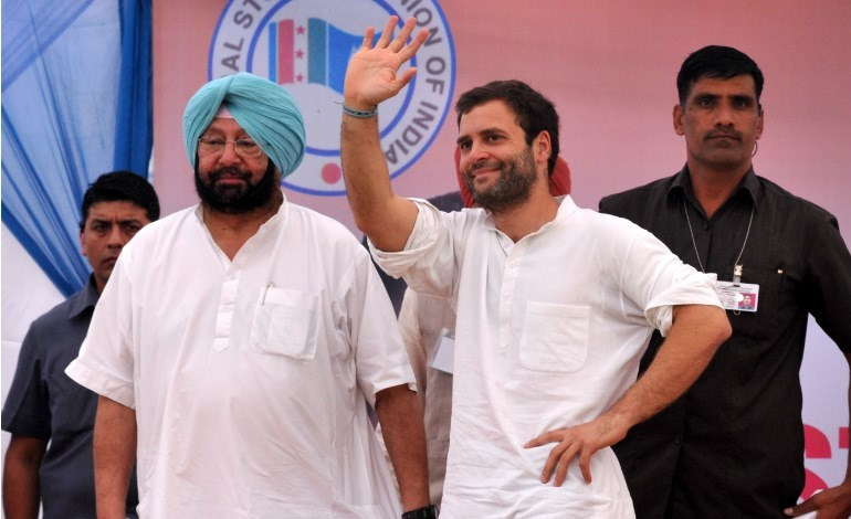 Congress Punjab polls Aam Admi Party BJP Akali dal