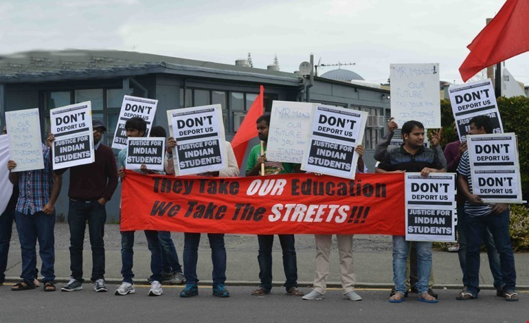 Deportation education students Auckland