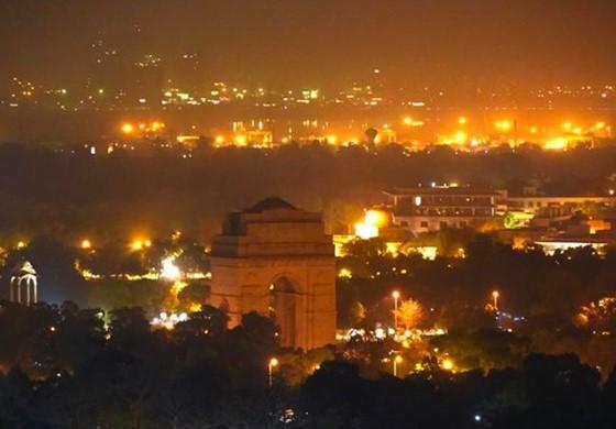 Earth Hour India India Gate Delhi