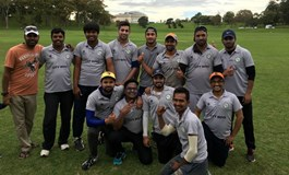 NZ Telangana City Boys Spirit of Cricket 2017 CricHQ NZ Kannada Koota AIS  and Desi Warriors Migrant Community Cricket Club V Giri Relianz Forex