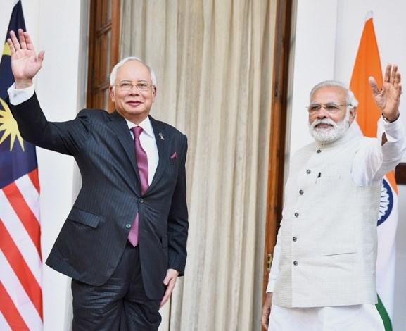 India Malaysia Prime Minister Narendra Modi Najib Tun Razak