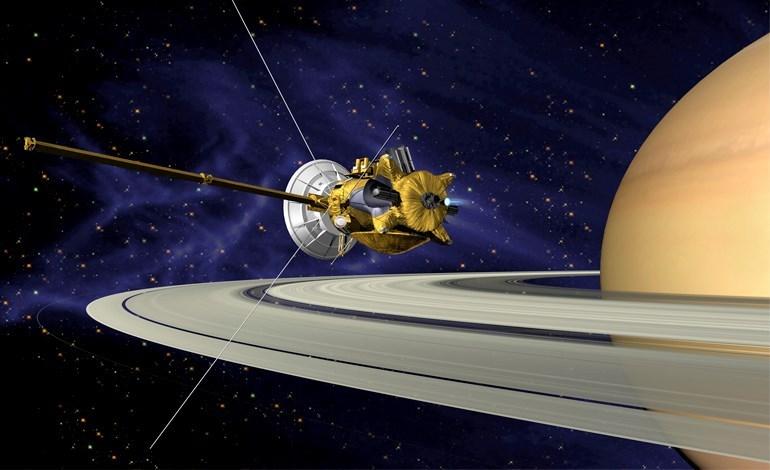 Cassini NASA Spacecraft Titan