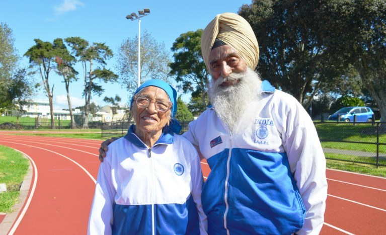 101-year-old athlete