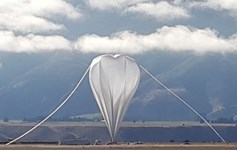 NASA Super Pressure Balloon  Wanaka New Zealand