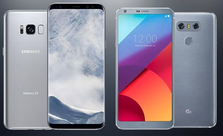 LG and G6 smartphone