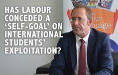 Labour Party immigration international students exploitation