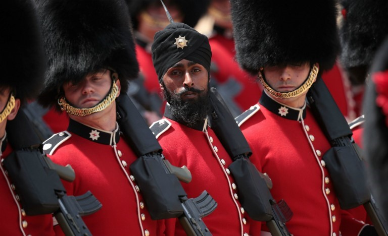 Sikh Coldstream Guards Soldier