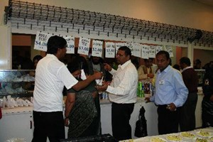 Catering for the thousands at MG Centre