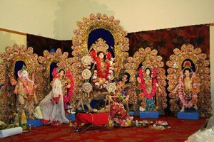 The display at Nandan's celebrations in Blockhouse Bay
