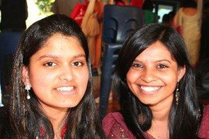 Chikita Kodical and Devika Balsekar: Diwali brings us all together it's a way of uniting all as family, friends, understand each other, and become… Diwali makes me happy, fireworks, sweets, an occasion for everyone to rejoice… it's a great feeling.