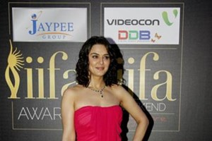 Preity Zinta at the IIFA Awards 2012