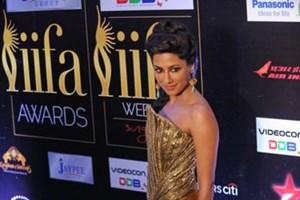 Chitrangada Singh at the IIFA Awards 2012