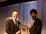 Kanwaljit Singh Bakhshi, the first recipient of the Kiwi Indian of the year