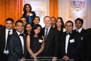 Kiwi Indian Hall of Fame 2014