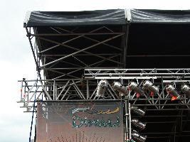 Detail of the main stage
