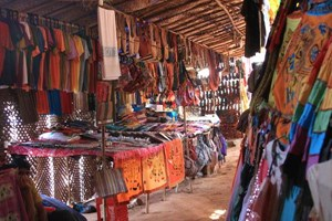 A flea market in Goa