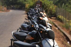 Goa's favourite mode of transport