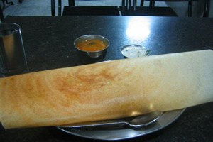 Dosa's another southern indian speciality